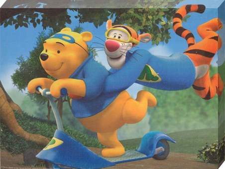 Pooh and Tigger Superheroes! - Disney's My Friends Tigger and Pooh