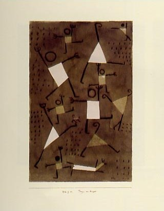 Dancing From Fear - Paul Klee