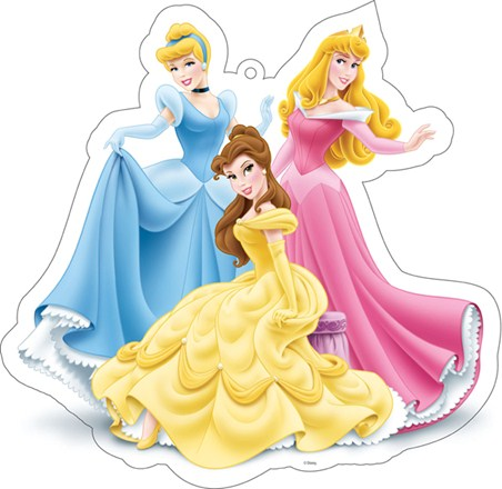 Cinderella, Belle and Sleeping Beauty - Disney Princesses