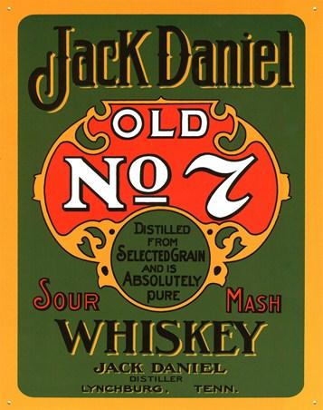 Sour Mash Whiskey - Jack Daniels