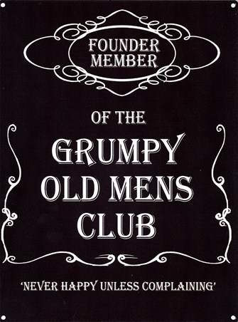 Founder Member - Grumpy Old Mens Club