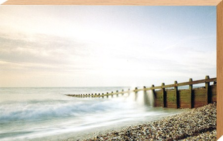 Pebbled Beach - Seascape Photography