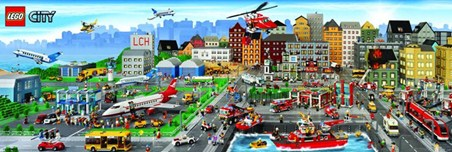 Lego City - Create, Build, Play