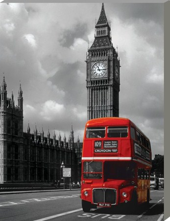 Red Double Decker - Iconic London