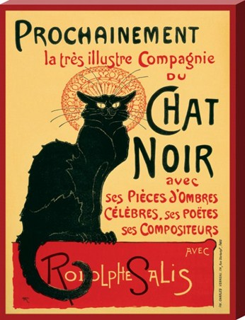 Chat Noir - Theophile Alexandre Steinlen