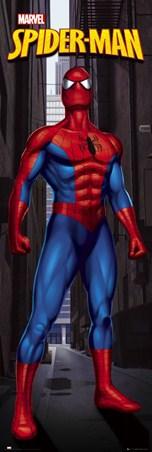 Peter Parker Surveys NYC - Spiderman