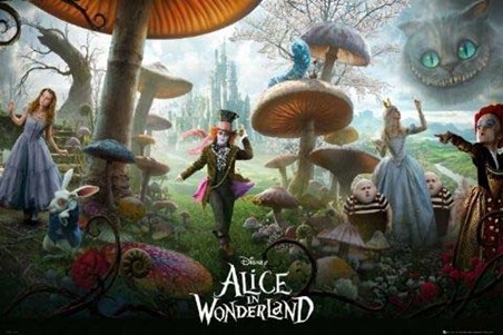 A Magical Cast of Characters - Tim Burton's Alice In Wonderland