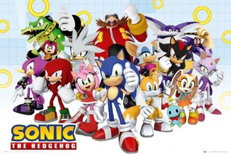 Sonic and the Gang - Sonic the Hedgehog
