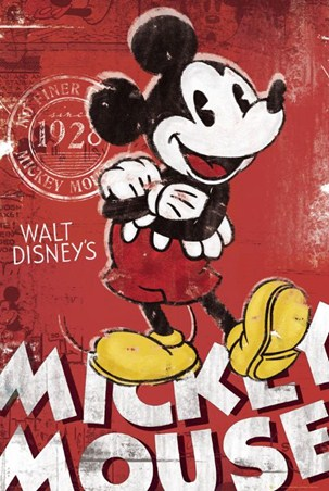 Unique Since 1928 - Walt Disney's Mickey Mouse