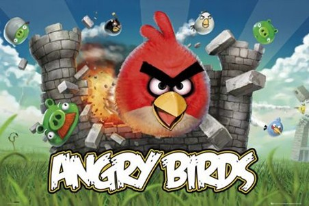 Evil Pigs Beware! - Angry Birds