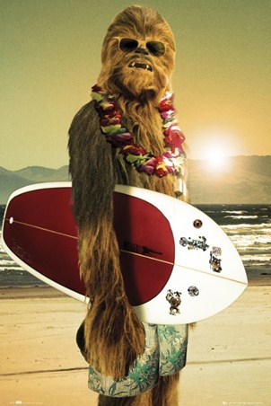 Surf Dude Chewie - Star Wars