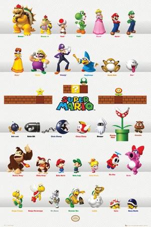 Super Mario Character ...