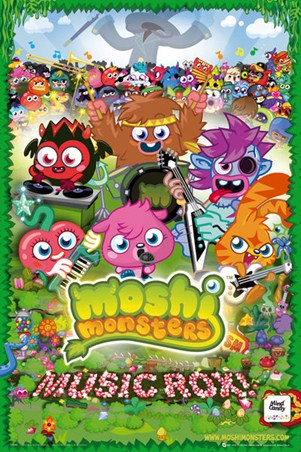Music Rox! - Moshi Monsters