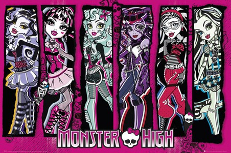 Monster High Girls - Freaky Just Got Fabulous