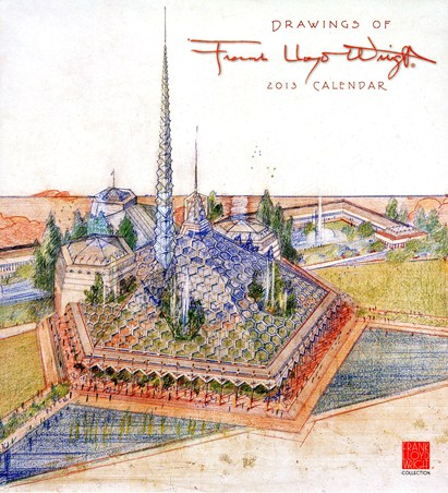Architectural Inspiration - Frank Lloyd Wright