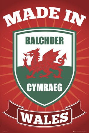 Made in Wales - Welsh Pride