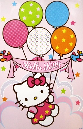 Fun with Balloons - Hello Kitty