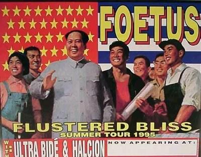 Foetus Summer Tour 1995 - Frank Kozik