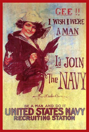 Gee! I Wish I Were A Man - United States Navy
