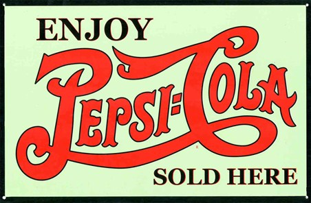 Enjoy A Refreshing Drink - Pepsi Cola, Sold Here