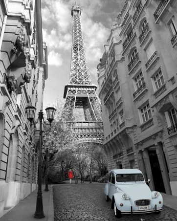 In the Shadow of the Eiffel Tower - Paris Photography