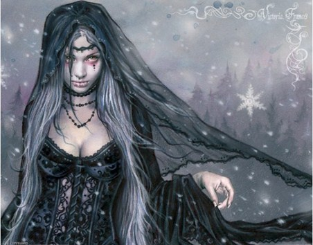 Winter gothic - Victoria Frances