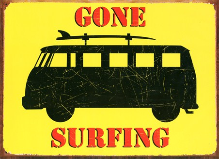 Gone Surfing - Surfing