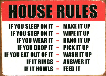 House Rules - If You...