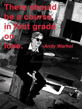 First Grade Course In Love - Andy Warhol