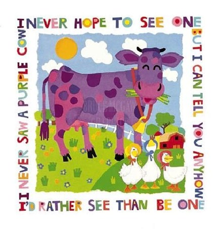 Purple Cow - Cheryl Piperberg