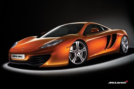 Mclaren Mp4-12c - Supercar