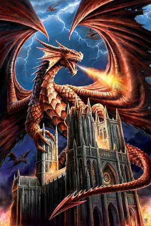 Dragon Fury - Anne Stokes