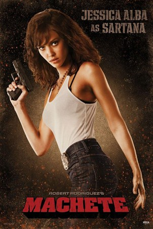 Jessica Alba is Sartana - Machete