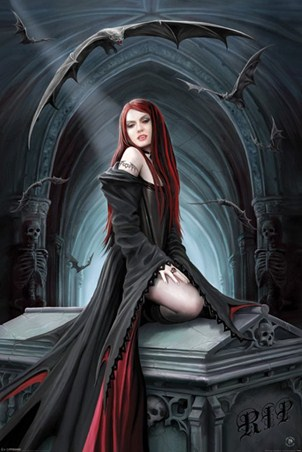 Await the Night - Anne Stokes
