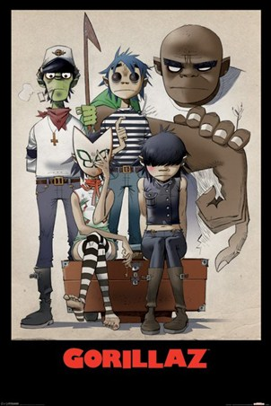 All Here - Gorillaz