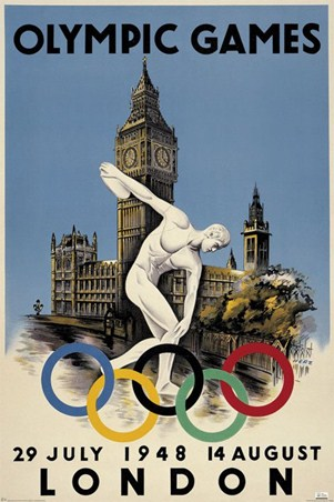 The 1948 Olympic Games - London, England