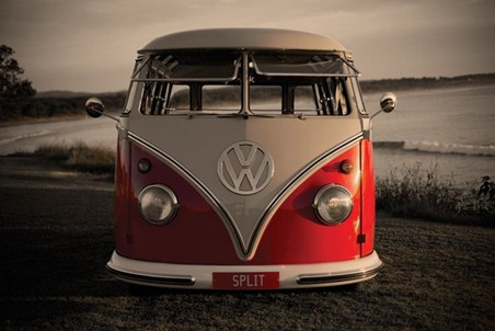 Split Screen Camper Van - Volkswagen