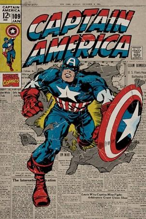 Marvel Comics Posters, Canvas Prints, Prints & Tin Signs - Buy Online ...