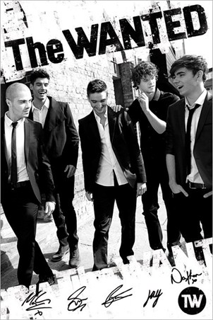 Boys in Black and White - The Wanted