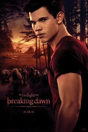 Jacob and The Wolfpack - Taylor Lautner stars in Twilight; Breaking Dawn