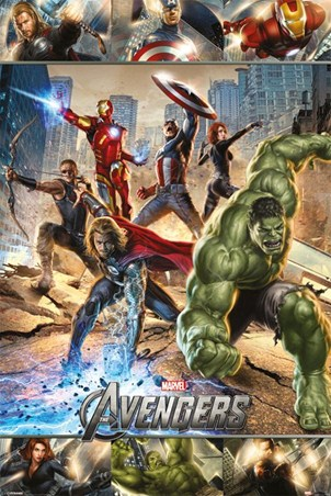 All Action Heroes - The Avengers