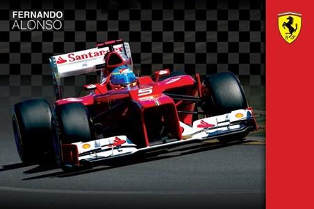 Fernando Alonso - Ferrari Formula One