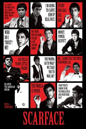 He Loved the American Dream - Scarface