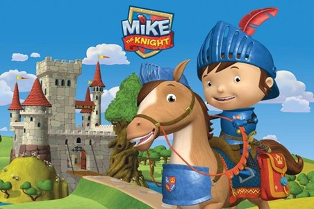 Mike & Galahad - Mike the Knight
