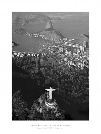Christ overlooking Rio de Janeiro - Marilyn Bridges