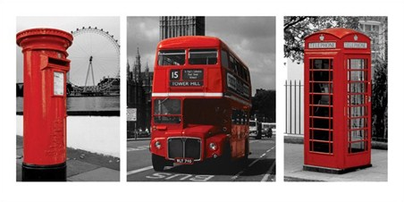 London Triptych - London Photography