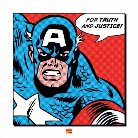 For Truth And Justice - Captain America