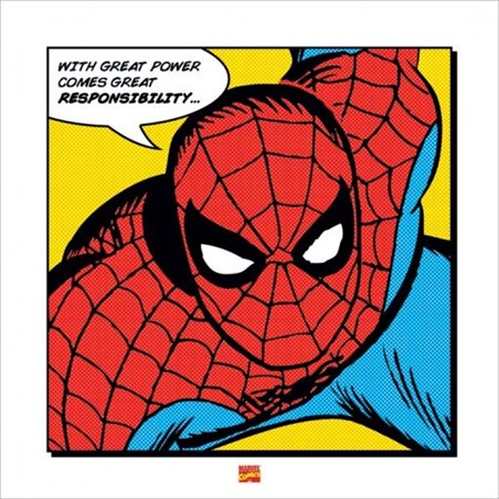 With Great Power - Spider Man