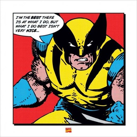 I'm The Best - Marvel Comic's Wolverine