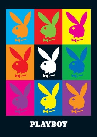 Pop Art Playboy - Palyboy Logo